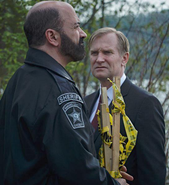 Lucifer Saison 4: Banshee : Photo Matt Servitto, Ulrich Thomsen