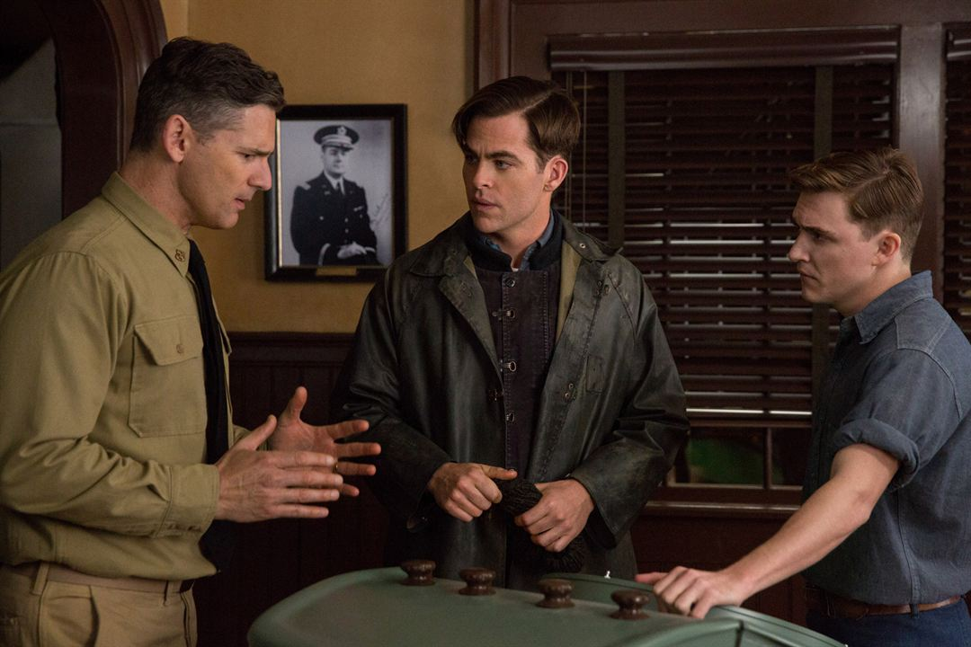 The Finest Hours : Photo Chris Pine, Eric Bana, Kyle Gallner