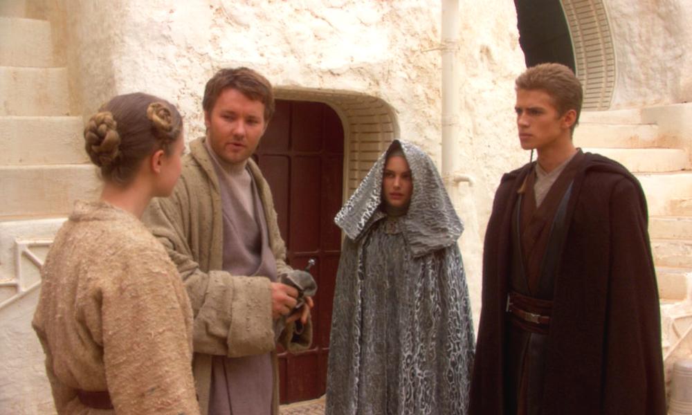 Star Wars : Episode II - L'Attaque des clones : Photo Bonnie Piesse, Hayden Christensen, Joel Edgerton, Natalie Portman