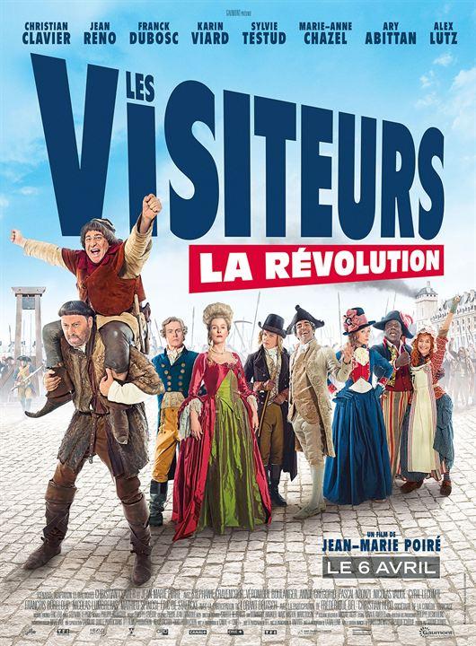 Les Visiteurs - La Révolution : Affiche