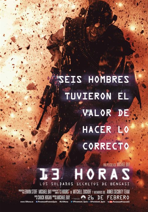 13 Hours : Affiche