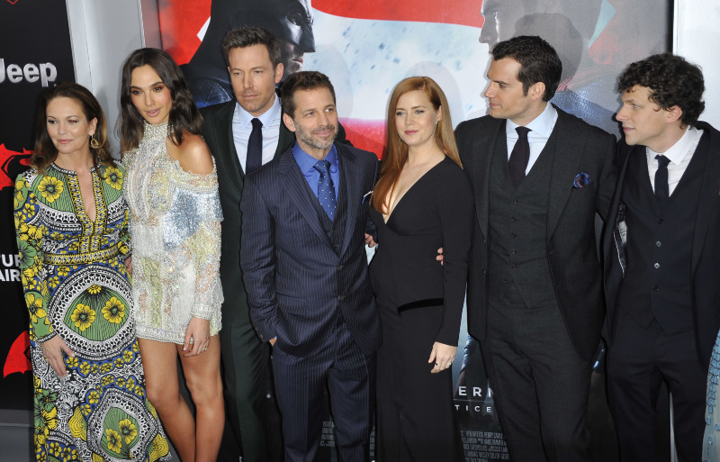Batman v Superman : L'Aube de la Justice : Photo promotionnelle Amy Adams, Ben Affleck, Diane Lane, Gal Gadot, Henry Cavill