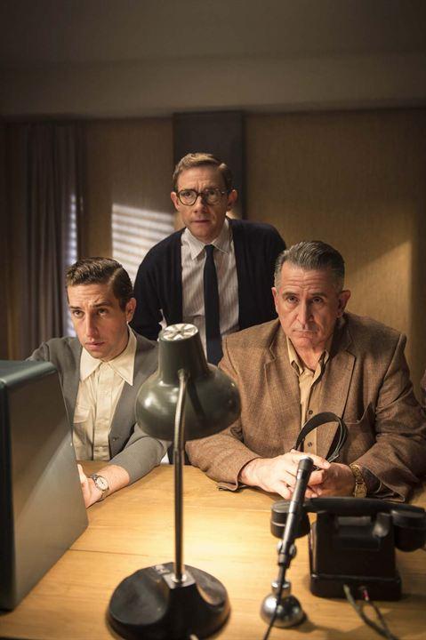 Eichmann Show : Photo Anthony LaPaglia, Dylan Edwards, Martin Freeman