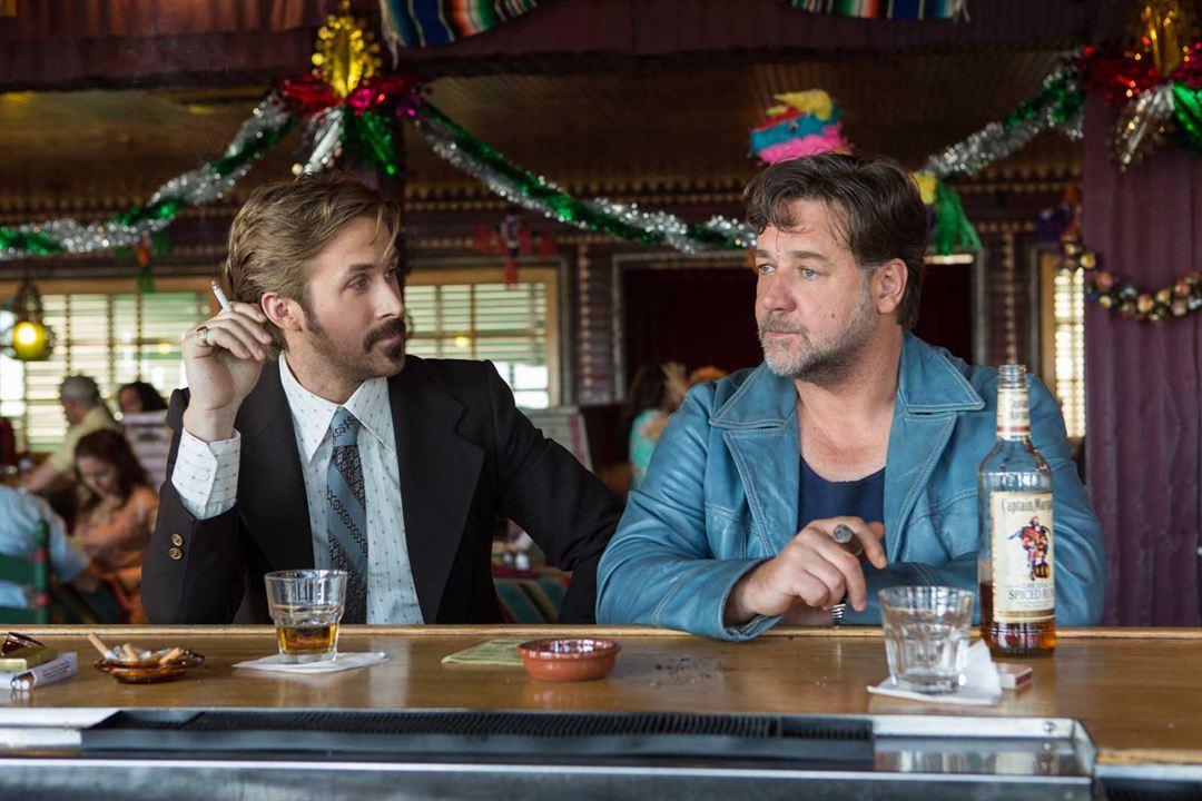 The Nice Guys : Photo Russell Crowe, Ryan Gosling