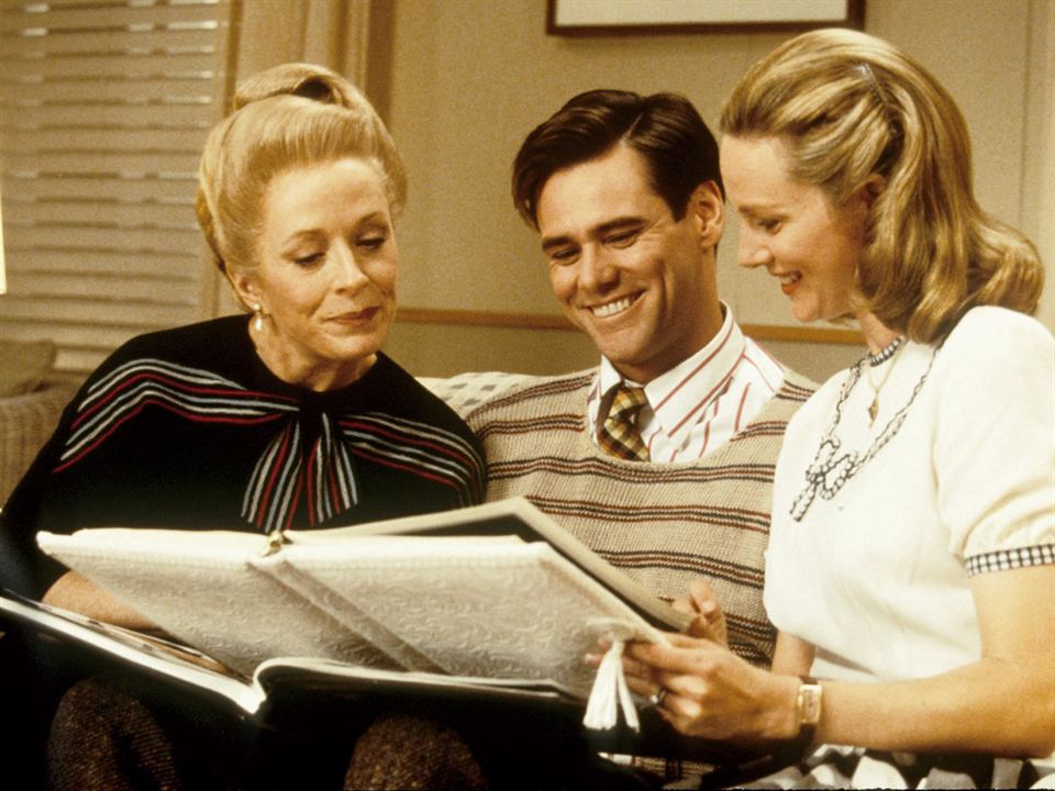 The Truman Show : Photo Holland Taylor, Jim Carrey, Laura Linney