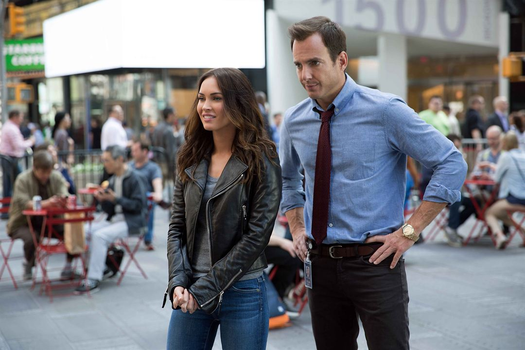 Ninja Turtles 2 : Photo Megan Fox, Will Arnett