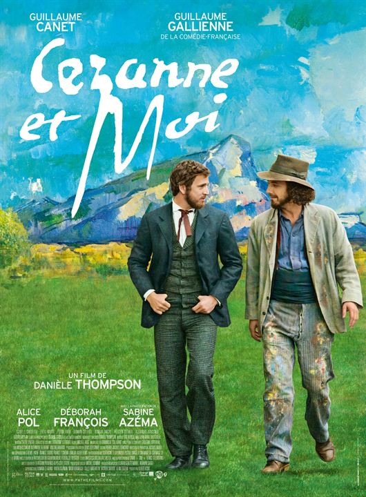 Cézanne et moi : Affiche
