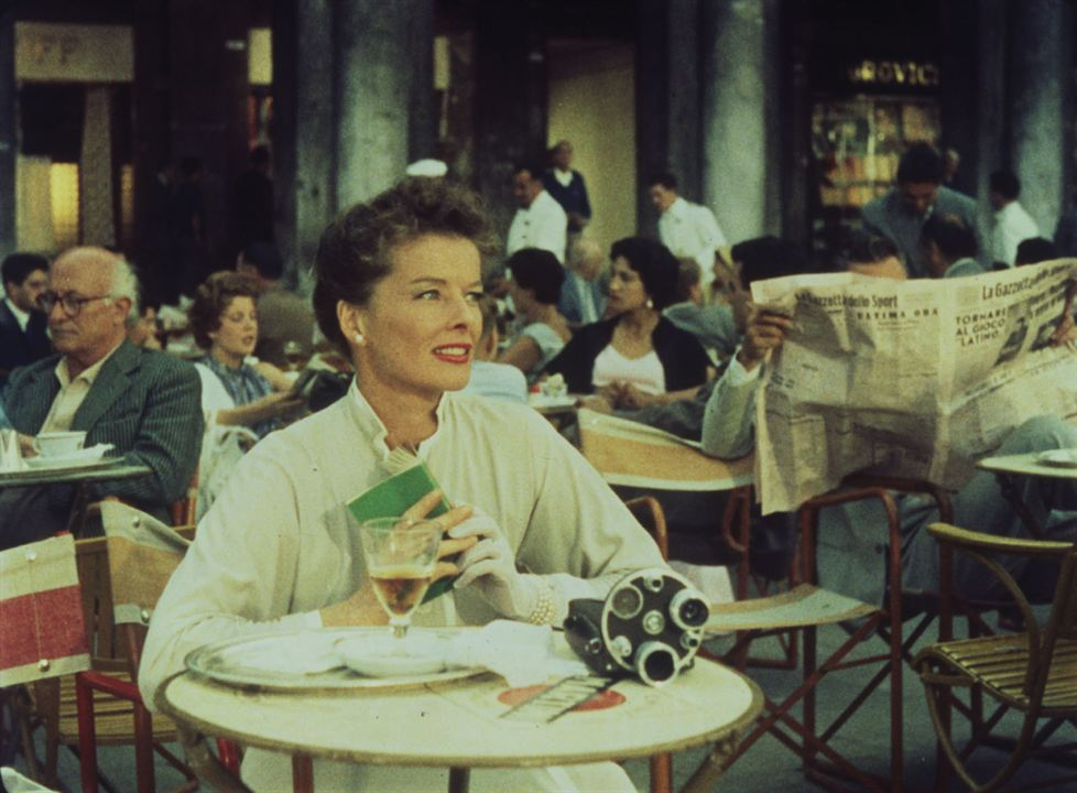 Vacances à Venise : Photo Katharine Hepburn