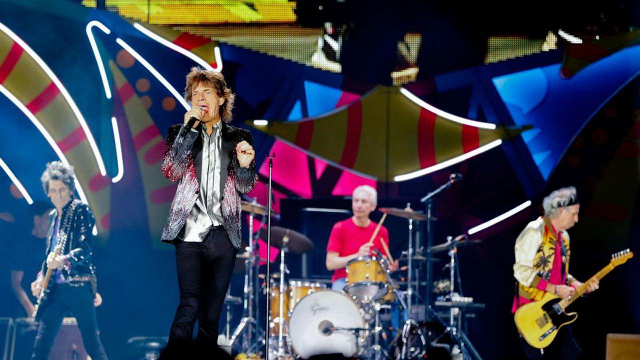 The Rolling Stones in Cuba - Havana Moon : Photo Charlie Watts, Keith Richards, Mick Jagger, Ronnie Wood