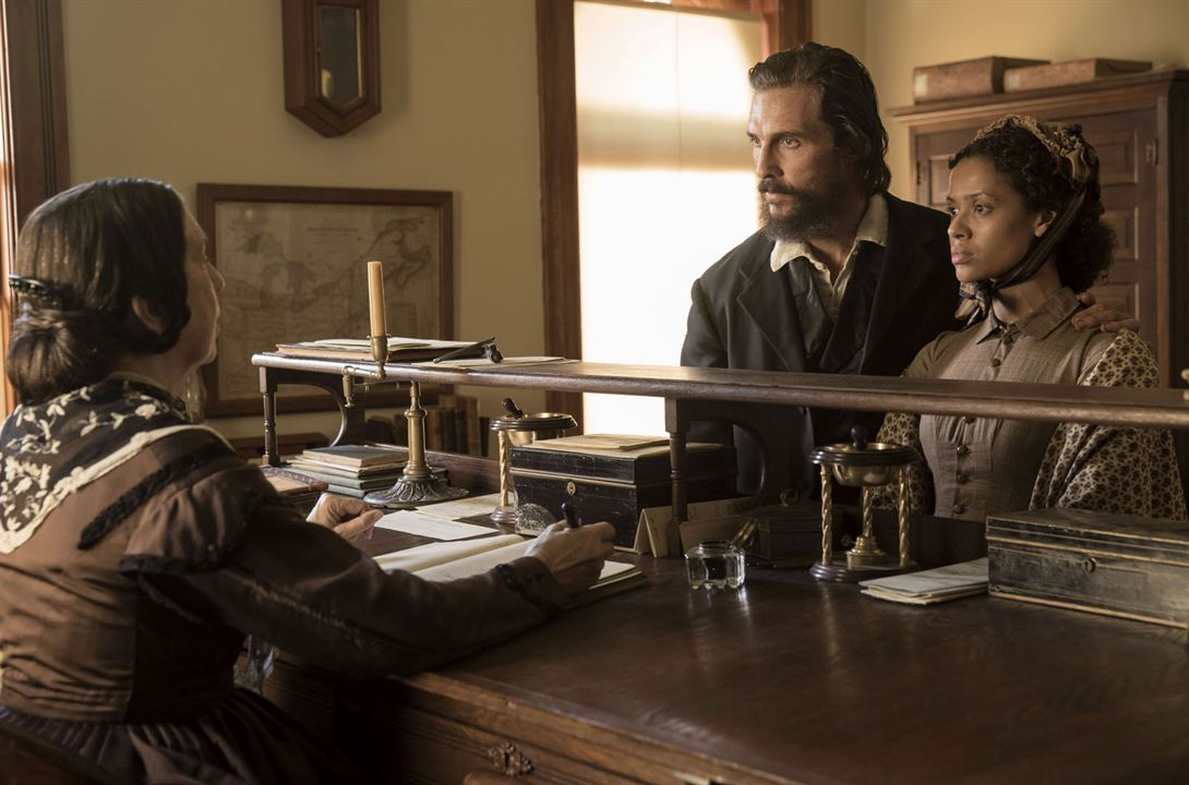 Free State Of Jones - Matthew McConaughey et Gugu Mbatha-Raw