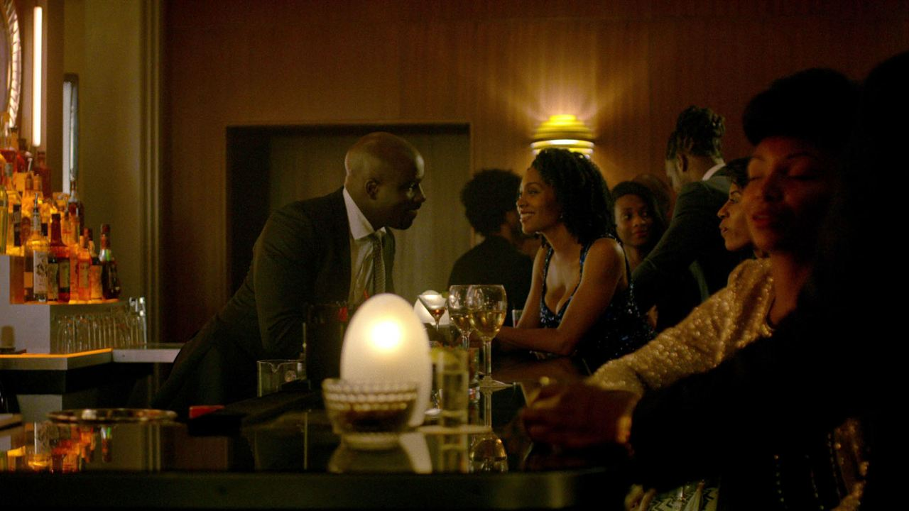 Photo Mike Colter, Simone Missick