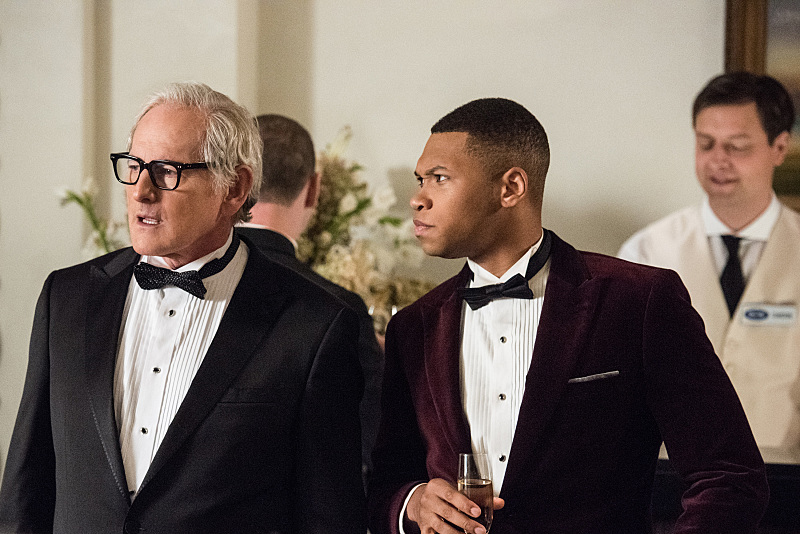 Photo Franz Drameh, Victor Garber
