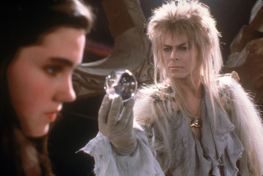 Labyrinthe : Photo David Bowie, Jennifer Connelly