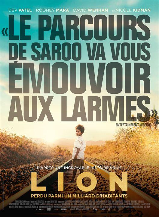 """Résultat de recherche d'images pour """"film lion affiche"""""""