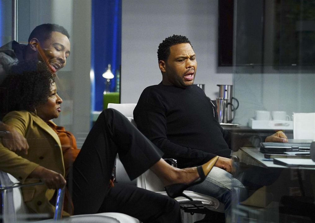 Photo Allen Maldonado, Anthony Anderson, Wanda Sykes