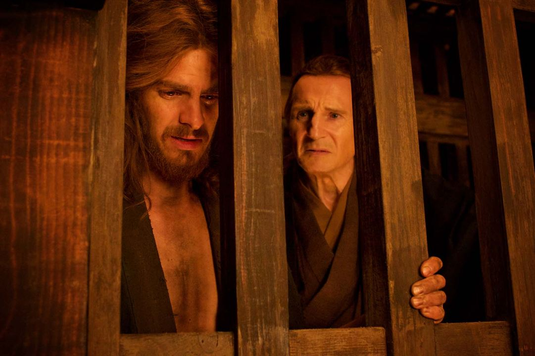 Silence : Photo Andrew Garfield, Liam Neeson