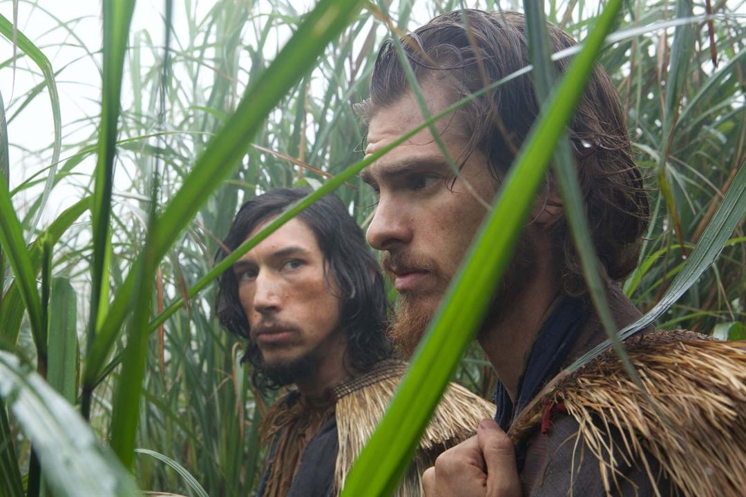 Silence : Photo Adam Driver, Andrew Garfield