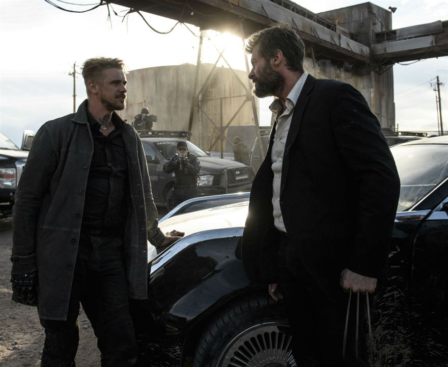 Logan : Photo Boyd Holbrook, Hugh Jackman