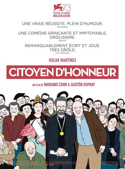 Citoyen d'honneur : Affiche