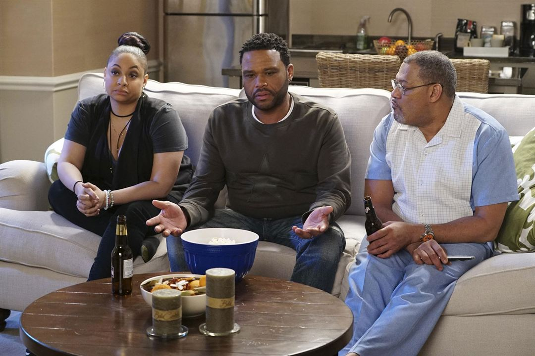 Photo Anthony Anderson, Laurence Fishburne, Raven-Symoné