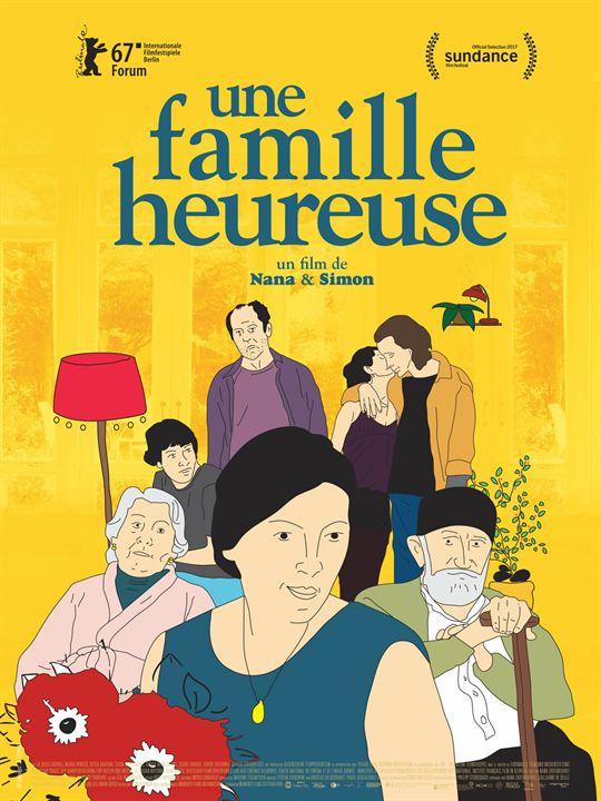 Une Famille heureuse : Affiche