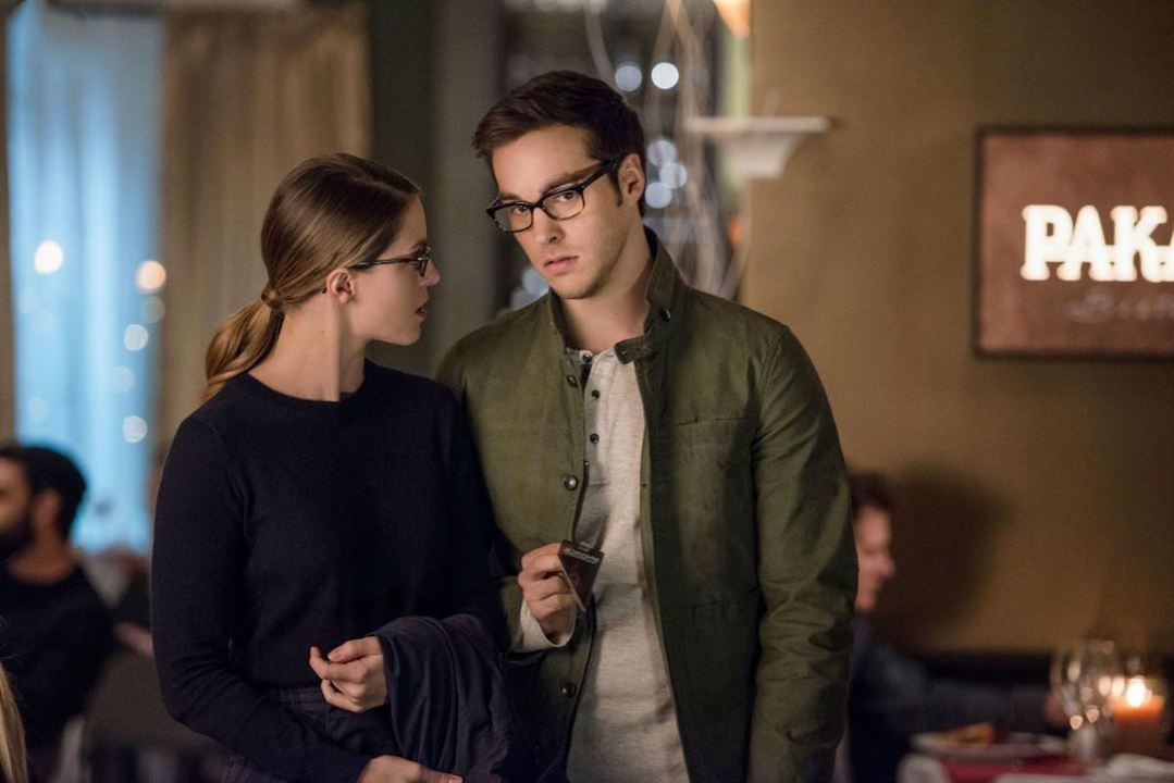 Photo Chris Wood, Melissa Benoist