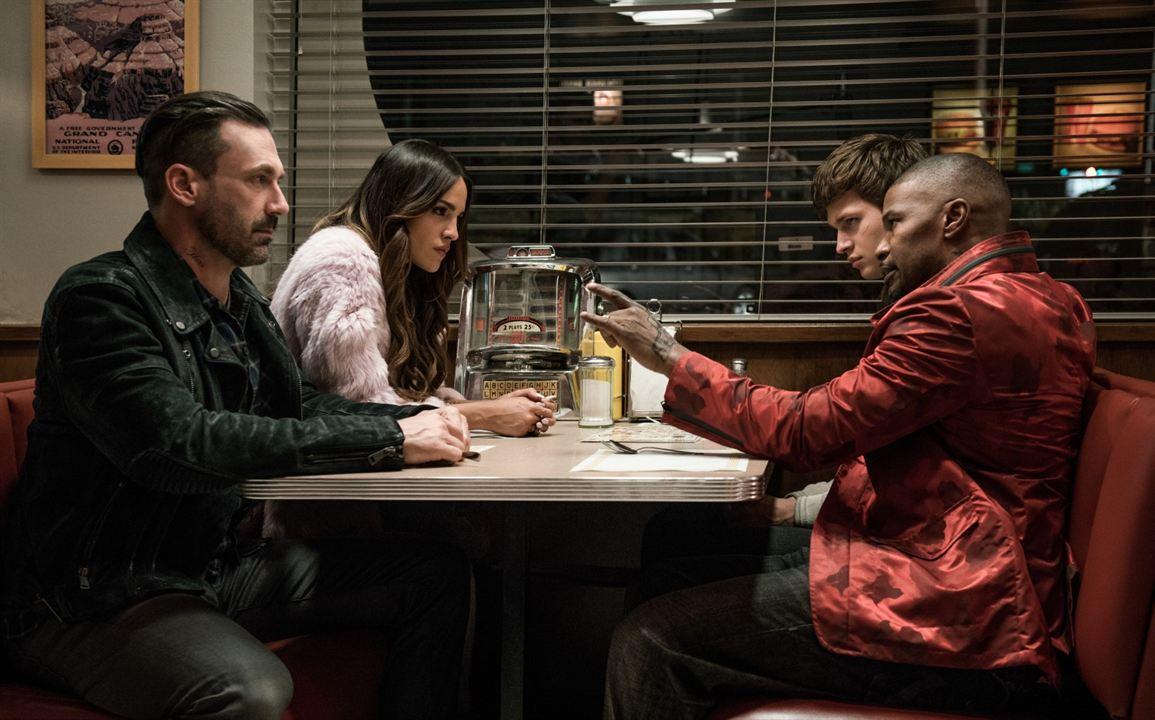 Baby Driver : Photo Ansel Elgort, Eiza Gonzalez, Jamie Foxx, Jon Hamm