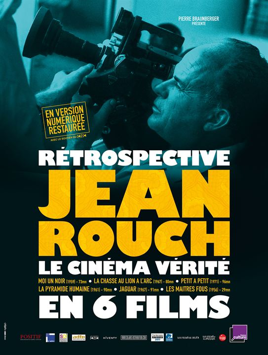 Rétrospective Jean Rouch - Le Cinéma vérité en 6 films : Affiche