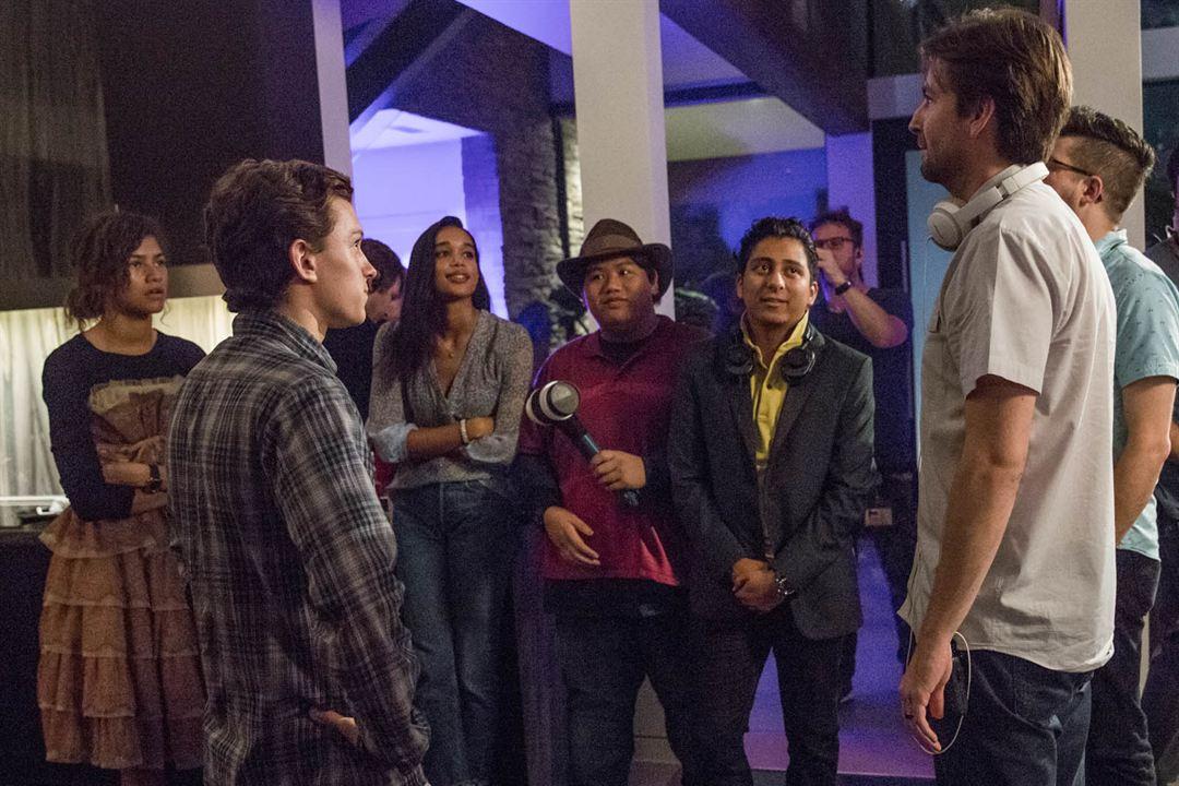 Spider-Man: Homecoming : Photo Jacob Batalon, Jon Watts, Laura Harrier, Tom Holland, Tony Revolori