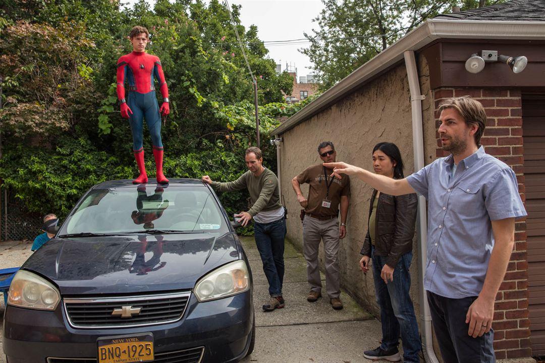 Spider-Man: Homecoming : Photo Jon Watts, Tom Holland