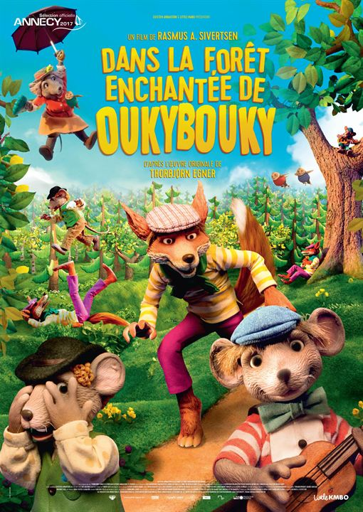 Dans la forêt enchantée de Oukybouky : Affiche