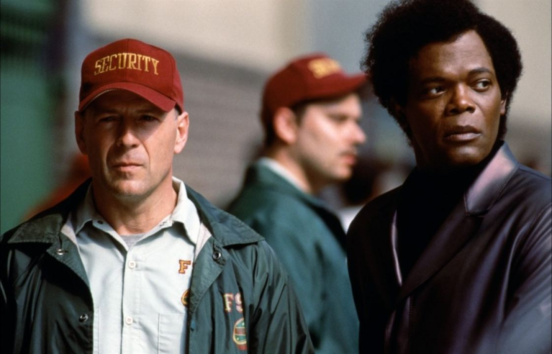 Incassable : Photo Bruce Willis, Samuel L. Jackson