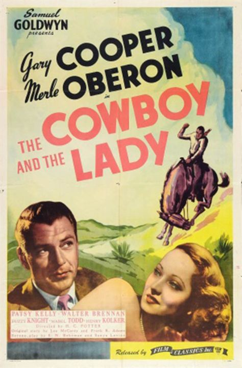 Madame et son cow-boy : Affiche
