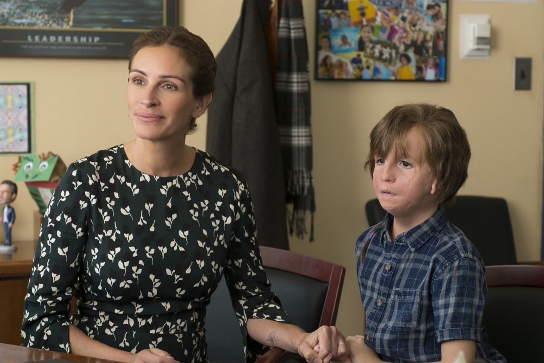 Wonder : Photo Jacob Tremblay, Julia Roberts