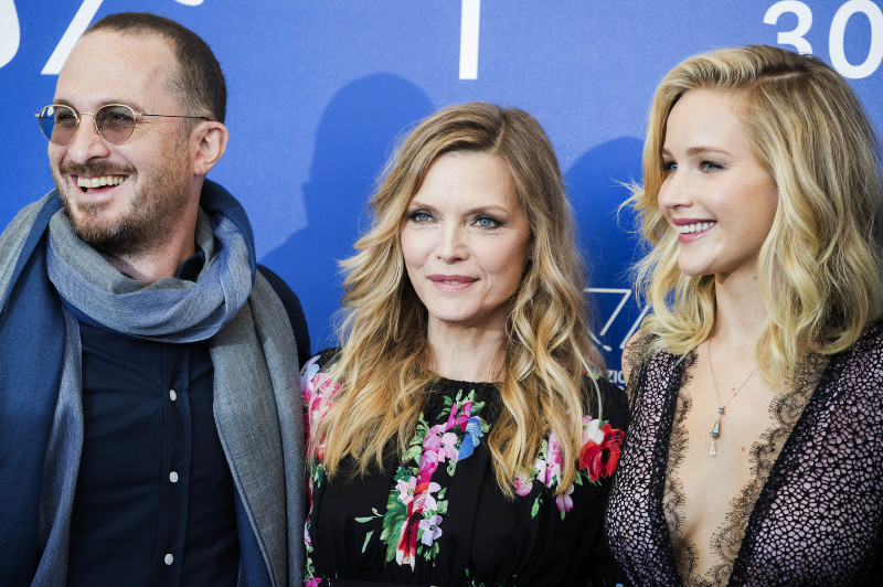 Mother! : Photo promotionnelle Darren Aronofsky, Jennifer Lawrence, Michelle Pfeiffer