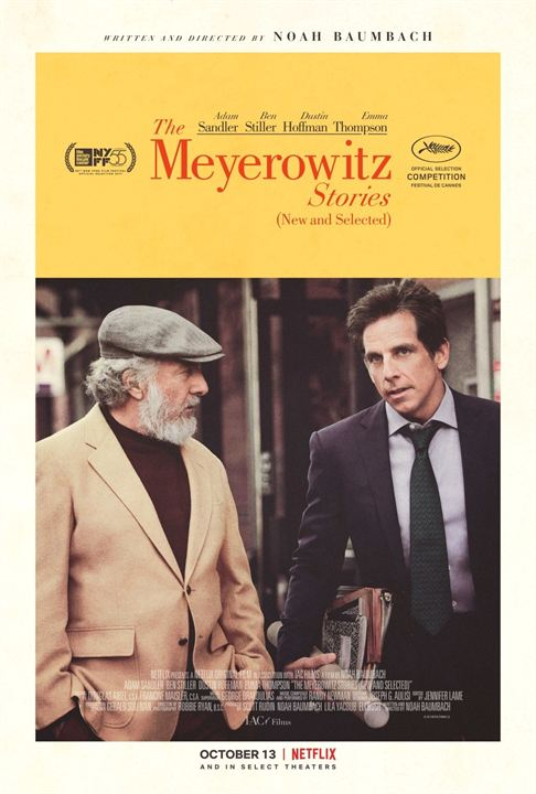 The Meyerowitz Stories (New and Selected) : Affiche
