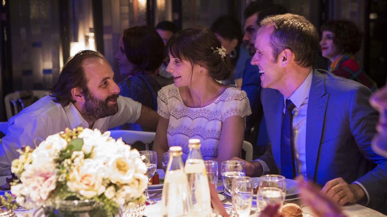 Le Sens de la fête : Photo Antoine Chappey, Judith Chemla, Vincent Macaigne