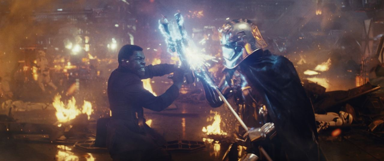 Star Wars - Les Derniers Jedi : Photo Gwendoline Christie, John Boyega