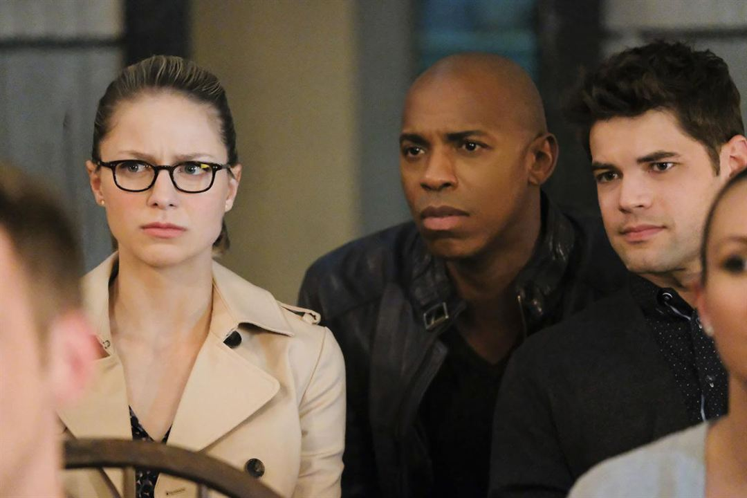 Photo Mehcad Brooks, Melissa Benoist