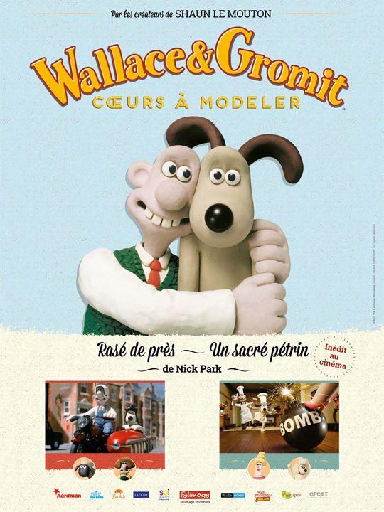 Wallace & Gromit : Cœurs à modeler : Affiche