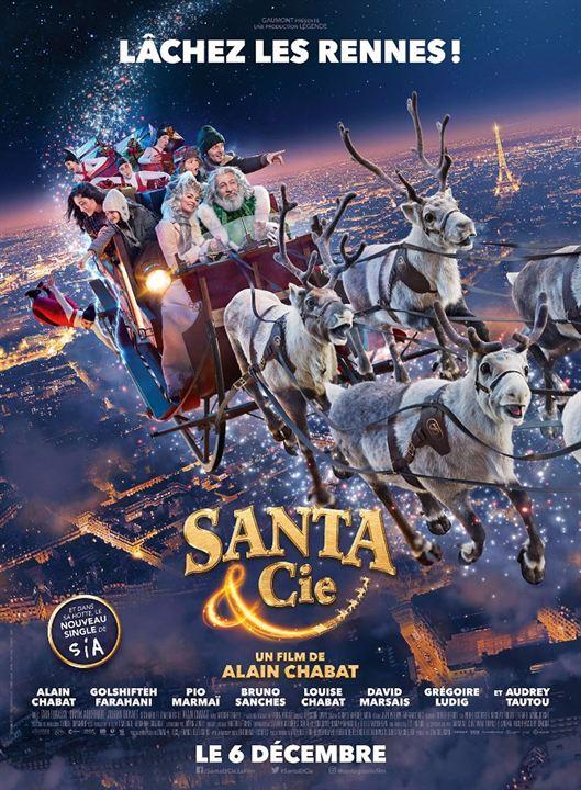 Santa & Cie : Affiche