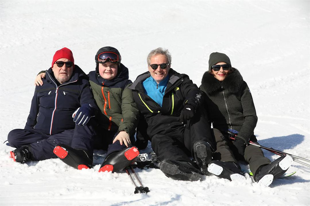 Photo François Berléand, Isabelle Gélinas, Philippe Lefebvre, Simon Parmentier