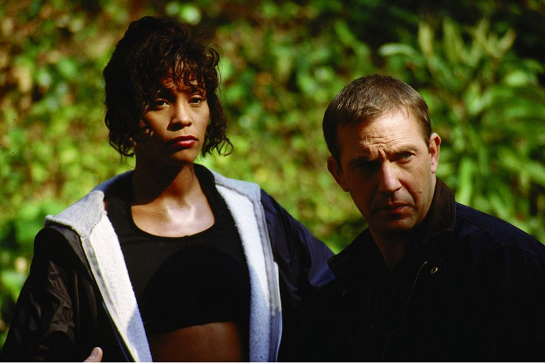 Bodyguard : Photo Kevin Costner, Whitney Houston
