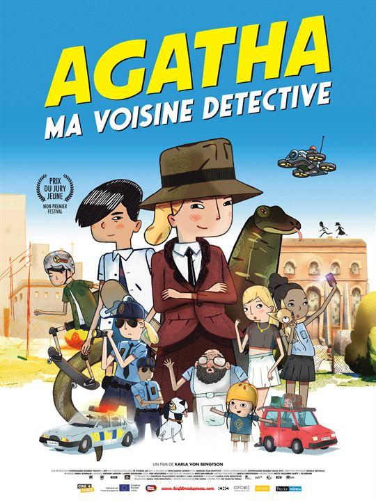 Agatha, ma voisine détective : Affiche