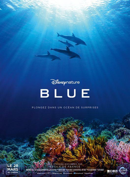 Blue : Affiche