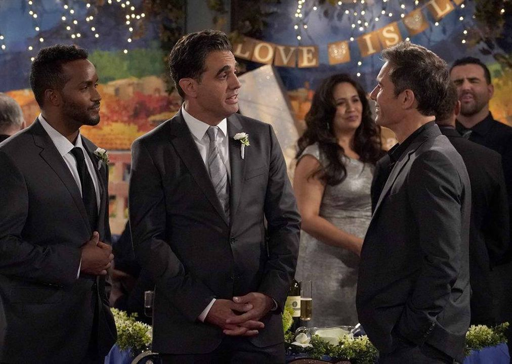 Photo Bobby Cannavale, Eric McCormack, Sterling Sulieman