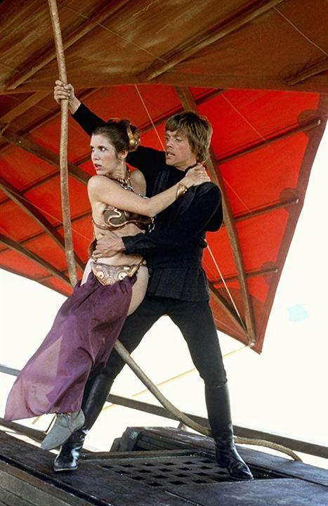 Star Wars : Episode VI - Le Retour du Jedi : Photo Carrie Fisher, Mark Hamill