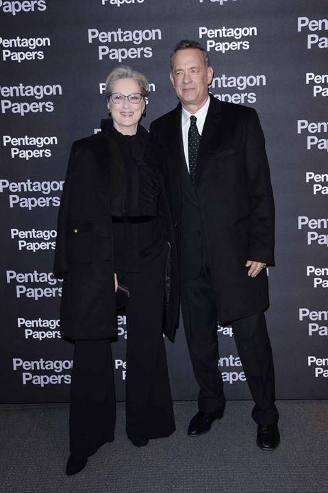 Pentagon Papers : Photo promotionnelle Meryl Streep, Tom Hanks