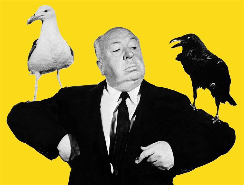 Les Oiseaux : Photo Alfred Hitchcock