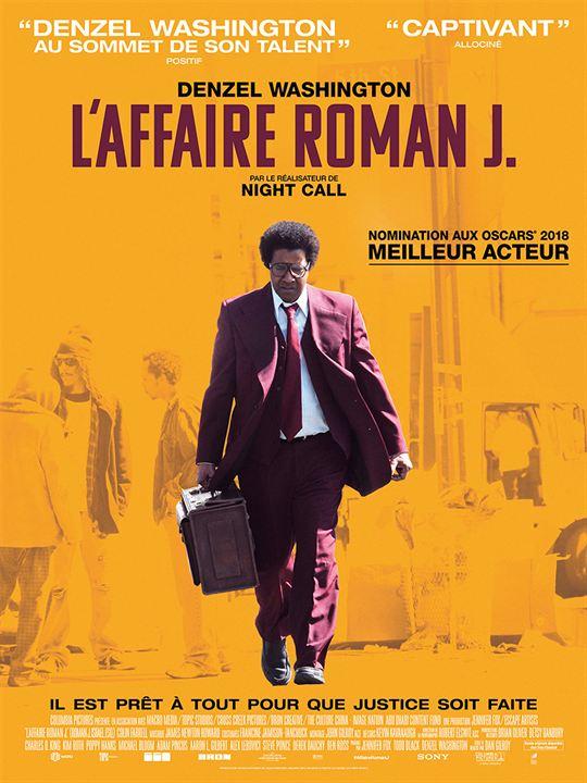 L'Affaire Roman J. : Affiche